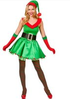 adult holiday costumes - Santas Sexy Little Helper Costume Adult S1513 Hot Sale Holiday Helper Elf Costume Sexy Costumes Women