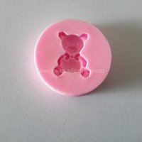 bear factory shop - bake tool factory shop bear style cake silicone fondant mold for cake decorating tool mk