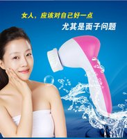 Wholesale 2016 hot Mini in Electric Face Washing Machine Facial Beauty Massager Skin Massage Cleaner MAS_218