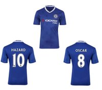 Wholesale FREE DHL Thai Quality Chelsea FC Soccer Jersey TERRY DIEGO COSTA FABREGAS FALCAO OSCAR HAZARD football shirts