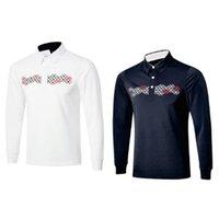 Le nouveau T-shirt à la mode T-shirt de golf de Long-douille de vêtements de golf de marque TIT 5 taille de couleurs de S-XXL dans le choix pour l'usage de sport Le vendeur paie / Livraison gratuite