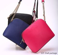 Wholesale Shell package female bags handbags inclined shoulder bags tote bags color for pick Designer Tot Mini package Fashion