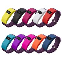 band plugs - Multi Color Fashion Slim Silicone TPU Case Band Cover For Fitbit Charge HR With dust plug function