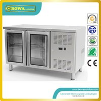 refrigerated counter - 270L ASTM304 Steel refrigerated counter