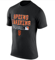 baseball legend - Men s San Francisco Giants Authentic Collection Legend Logo Performance T Shirt Red Baseball Mix Order