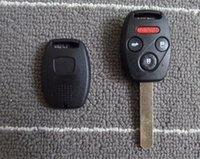 Wholesale 1piece CE quality remote car Key shell with uncut key blade and button board for Japanese cars H series C C v Od Ac F Sp