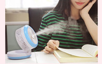 air conditioning recharge - DHL EMS free mobile phone power bank Cosmetology USB spray fan office home air condition room products Humidifier recharge in USZJ004