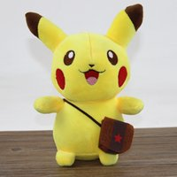 baby animal videos - Poke Pikachu Plush Toy Figures Soft Animal Stuffed Doll Kids Children Baby Toy Gift cm OOA376