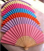 ad blank - Blank folding fan plain white rice paper fan blank calligraphy fan fan blank ad