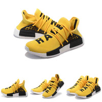 Wholesale Williams Pharrell x White NMD HumanRace People Racing Shoes HumanRace Yellow Black NMD Shoe EUR36 NMD HUMAN RACE