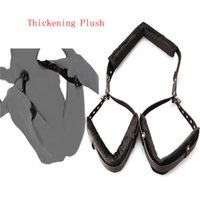 Cheap Sex Games For Married couples Sex Furniture Sex Products Combination Belt Straps Thickening Plush Leg Restraints Bondage Tools