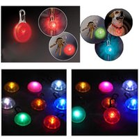 Wholesale Pet Puppy Cat Dog Adjustable LED Waterproof Clip on Pet Safety Light Collar for Cats and Dogs