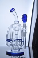 big adapter - HEADY Big Glass Bong Perc With Glass Bowl And Adapter Cyclone Helix Such an intricate SIX Arm Bubber Water Pipe Hookah Oil Rigs Femal