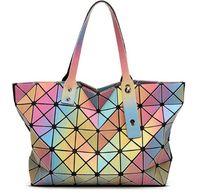 Wholesale Laser BaoBao Women Bag DazHot Fashion Women s Handbag Hight Quality Same As BaoBao Bag Design D Rainbow Totes Lattice Serpentine Liopar