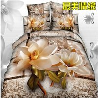 best feelings - 100 pure cotton Fashion home textile twill D Bedding set Bedclothes Duvet cover bed Comforter sheet best feelings S138