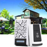 Wholesale Waterproof Smart Home Wireless Doorbell Forecum Door Bell Chimes Songs for Home Office Free DHL