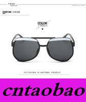 ants eyes - EMS Fast Ship Fashion Ant Sunglasses suit for men and women brans style reflective style big frame colosr Mixed MOQ