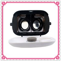 Wholesale 2016 new VR Max Cardboard Plastic Virtual Reality VR Glasses D Helmet Phone Glasses for inch Smart Phones