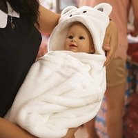 Wholesale Soft Baby Towels Animal Shape Hooded Towel Lovely Baby Bath Towel High Quality Baby Hooded Bathrobe For Newborn Infants