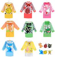best waterproof poncho - best kids pvc raincoat Funny Raincoats Baby Children Kids Cartoon cat tiger elephant beetle SpongeBob Rain Coat Rainwear Waterproof Rainsuit