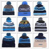 Wholesale 2016 San Diego Football Beanies Winter High Quality Wool Beanie SD Chargers Beanie Embroidered Logo Cool Skull Caps Knit Cotton Hats