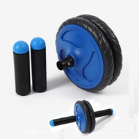 Wholesale Portable Removable No Noise Ab Roller Abdominal Wheel Workout Gym Equipment Fitness Equipment For Abdominal Exerciser