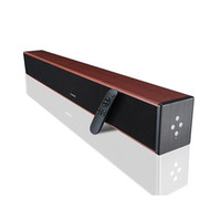 bars theater - Bluetooth sound bar speaker home theater wireless Multifunction wooden box channel deep bass W TV soundbar
