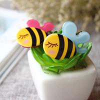 bee hair clips - Girls Hair Clips Acrylic bee Cute Felt Animals Cartoon Baby Felt Clips Passarinhos DE Feltro Animals Felt Clips Colors Barrettes accessory