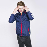 Wholesale Solid Sports Running Jackets for Men Best Breathable Waterproof Colorful Jackets Coats Quick Dry Mens Hooded Autumn Outdoors Coats