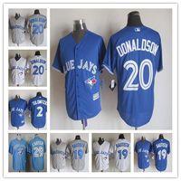 Wholesale 2015 New Fabric Toronto Blue Jays Jersey Troy Tulowitzki Jose Bautista Josh Donaldson Joe Carter Baseball Jerseys