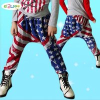 ab pants - Kids Boys American flag Pants AB star stripe Flags Pant trousers Baby Spring Long leggings Pants Cool Baby