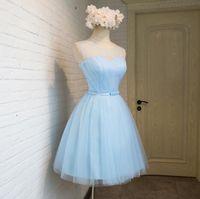 ball corporation - 2016 ice blue bridesmaid dresses corporation dress skirt evening dress custom