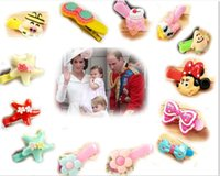 Boy animal hair styles - 15 off style Prince William s daughter Duck mouth hair clip Rabbit Bow Flower Hairpin Children Hair Clips Baby Girls Barrettes