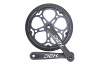 Wholesale For speed or speed road bike and folding bike dental plate chainring T single tooth gear plate aluminum crankset