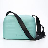 beach gel - O Bag Candy Colored Womens Bag Jelly Package EVA Shoulder Italian O Bags Silica Gel Handbags Beach Leisure Designer Michael Korse O Bag
