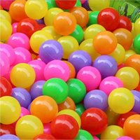 Wholesale 100pcs Ocean ball cm thickening cean ball cm thickening children playground toys color bobo ball swimming pool