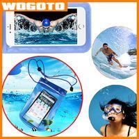 Universal Limpar impermeável prova Pouch Case Water Bag Underwater tampa adequada para todo o telefone móvel sob 6.0 polegadas Iphone Samsung