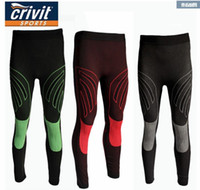 Wholesale Crivit men male quick drying pants sports outdoor fitness running perspicuousness function tight trousers Riding pants