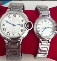 auto news - news Luxury couple Pasha Seatimer quartz movement stainless Steel Watch Watches for lovers gifts