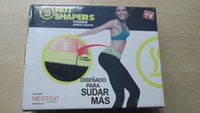 Wholesale Neotex Hot Shapers Power Kness Slimming Pants Disenado Para Sudar Mas Sports Fitness in OPP Bag Pack Capris wp