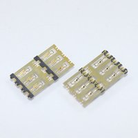 Wholesale new Sim Card Reader connector socket slot contact module for Xiaomi M4 Mi4 Mi HK