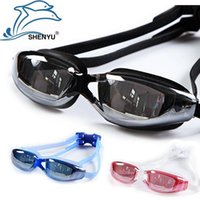 best diving goggles - Best Adult swimming goggles Anti fog Waterproof UV Protection men women swim glasses goggle for arena pool sport Water Diving Equipment