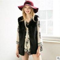 Wholesale European American fashion Clothing Faux Fur Vest coat sleeveless Solid Wild Autumn And Winter Maomao Vest woman vest T0523