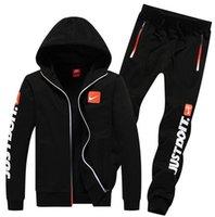 Wholesale outdoor tracksuit men jackets pants mens hoodies and sweatshirts men s sports suits tracksuits sportswear man plus