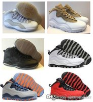 Cheap Air 10 retro men basketball shoes online cheapest authentic good 1:1 quality real sneakers US size 8-13 free ship with box
