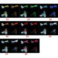 Wholesale LED Flashing shoe Sneakers laces Color Fiber Optic Shoelace Luminous Shoe Laces Light Up Shoes lace XL T73