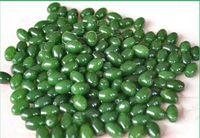 Wholesale Hot Sale Xinjiang s hotan jade Loose Beads Spinach jade green mountain apple626