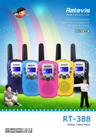 Toy Walkie Talkie big lcd display - 2pcs US Frequency Children Walkie Talkie Retevis RT UHF MHz W CH LCD Display Flashlight VOX Two Way Radio A7027