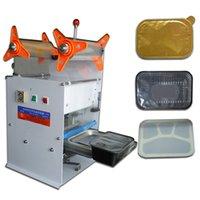 Wholesale Tofu snack box sealing machine sealing machine plastic film sealig machine sealer trays cup sealing machine automatic cup sealer