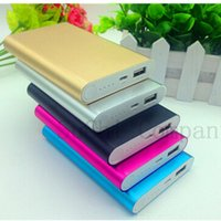Wholesale For xiaomi power bank mAh Polymer powerbank bateria externa mobile charger for iphone s plus samsung s7 huawei All phones